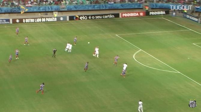 Santos' top five goals against Bahia