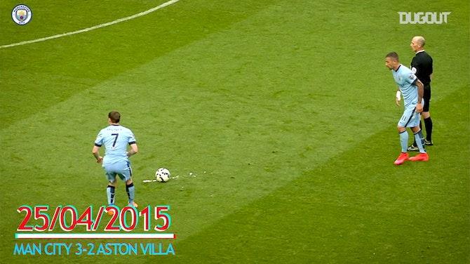 Preview image for Aleksandar Kolarov's Best Manchester City Free-Kicks