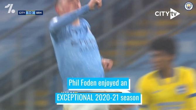 Phil Foden's 2020-21 Premier League campaign to remember