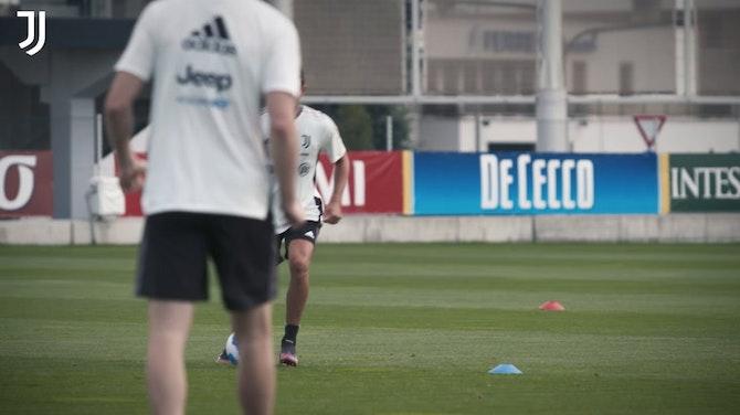 Vorschaubild für La Juventus continua ad allenarsi