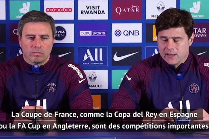 "Quarts - Pochettino : ""Jouer notre meilleur football"""