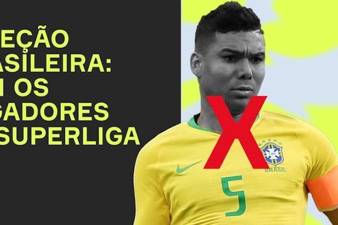 Sem Alisson ou Casemiro! Como fica a seleção brasileira sem os jogadores da SUPERLIGA?