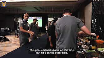 Preview image for Tigres captain Guido Pizarro teases Gignac for his canteen antics