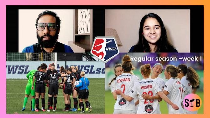 #RadhaAndRomel pick their goals of Week 1   NWSL 2021