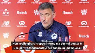 """Anteprima immagine per Lille, Galtier a Mbappé: """"Non abbiamo ancora vinto la Ligue 1"""""""