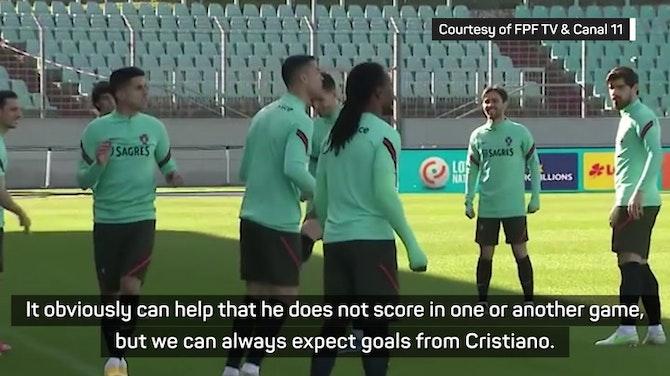 Scoring goals belongs to Cristiano - Neves