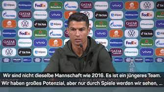 """Vorschaubild für Ronaldo: """"Meine Zahlen sprechen für sich"""""""