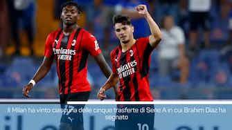 Anteprima immagine per Diaz gol, il Milan batte la Samp