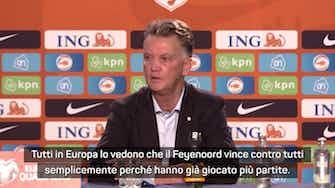 "Anteprima immagine per Inter, senti Van Gaal: ""A Dumfries manca il ritmo"""