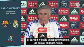 "Imagen de vista previa para Ancelotti, en titulares: ""No hay favorito"""