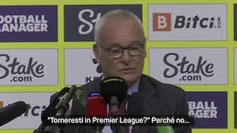 Anteprima immagine per Watford, Ranieri si presenta in gran forma!