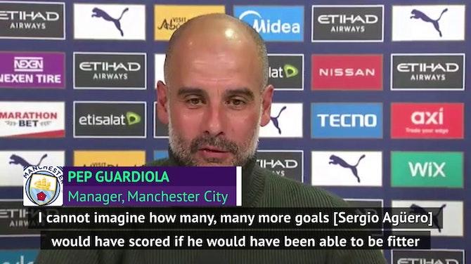 Guardiola lauds 'incredible' Aguero ahead of Etihad farewell