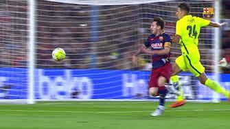 Imagen de vista previa para Leo Messi marca dos goles en la victoria del Barcelona al Levante