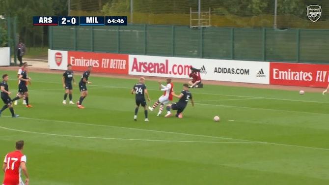 Preview image for Nicolas Pépé's pre-season strike against Millwall
