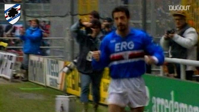 Sampdoria's 1990-91 clashes vs Inter