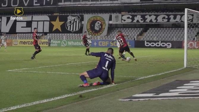 Preview image for Santos beat Athletico-PR at Vila Belmiro