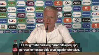 "Imagen de vista previa para Deschamps: ""Es muy triste perder a un jugador como Dembélé"""