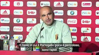"""Anteprima immagine per Martinez: """"Portogallo? Non c'è solo Ronaldo"""""""