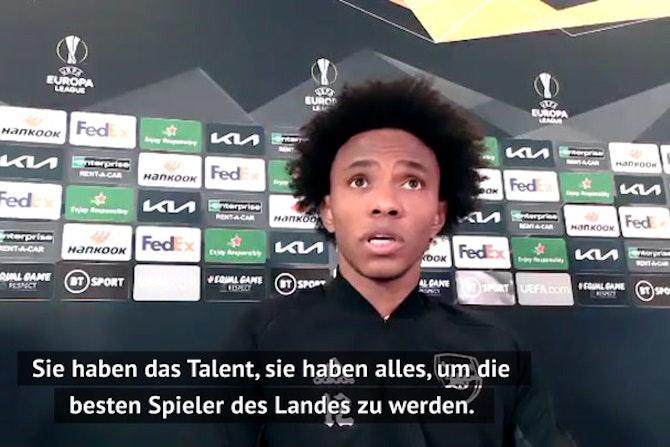 Willian: Arsenal will den Europa-League-Titel