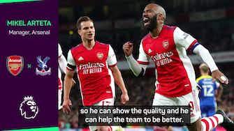 Preview image for Arteta explains Lacazette and Martinelli lack of Arsenal minutes