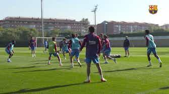 Imagem de visualização para Com a presença de Dembélé, Barcelona  inicia treinamentos da semana