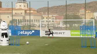 Preview image for Juan Miranda's impressive free-kick technique