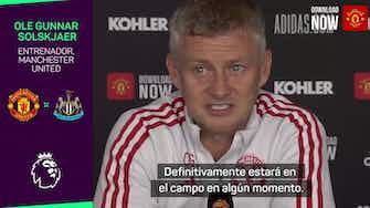 "Imagen de vista previa para Solskjaer: ""Ronaldo ha venido aquí a por más"""