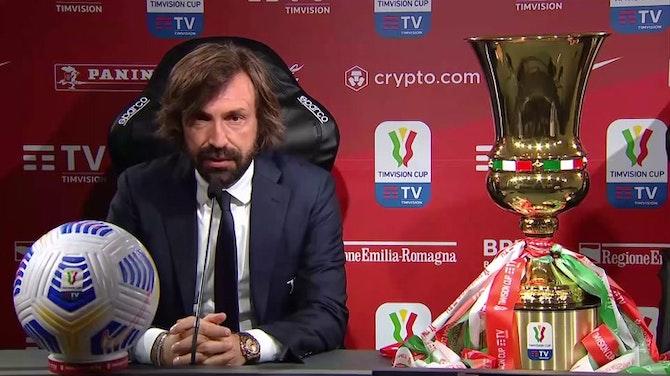 "Pirlo: ""Bonucci out, Dybala sta bene"""