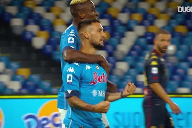 Les buts de Matteo Politano en 2020-21 jusqu'à présent