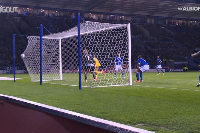 Jesse Lingard's goals for Brighton
