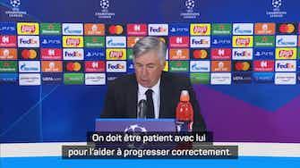 "Image d'aperçu pour Gr. D - Ancelotti : ""Camavinga a beaucoup de talent"""