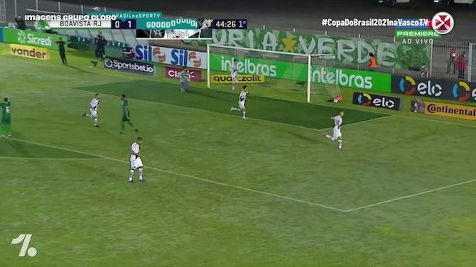 Vasco beat Boavista in the third round of 2021 Brazilian Cup