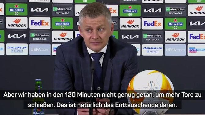 "Solskjaer nach Final-Pleite: ""Erfolglose Saison"""