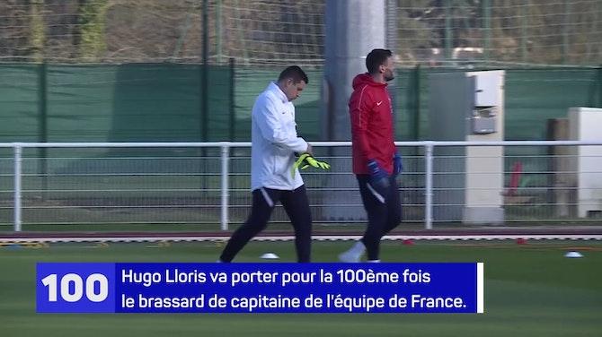 Bleus - Hugo Lloris, 100 fois capitaine