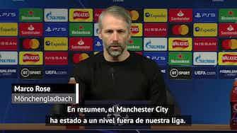 "Imagen de vista previa para Rose: ""El Manchester City ha estado a un nivel fuera de nuestra liga"""