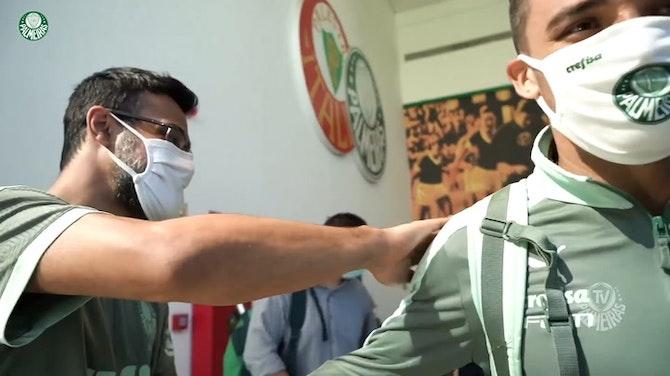 Palmeiras stars travel to Maceió for the 2021 Brazilian Cup debut