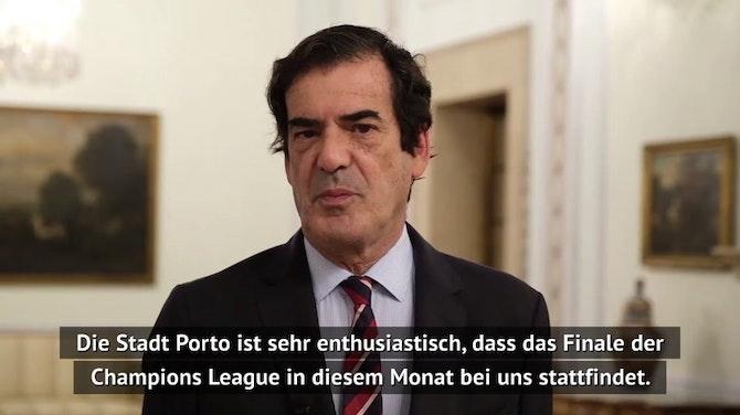 "CL-Finale: Portos Bürgermeister ""enthusiastisch"""