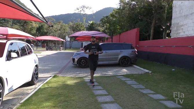 Gerson's last Flamengo training session