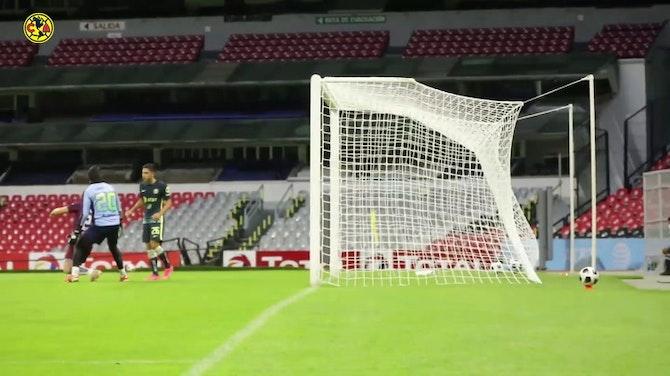 Preview image for Karel Campos's goal vs Atlante