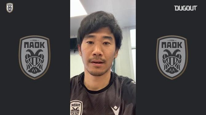 Shinji Kagawa thankful for birthday wishes