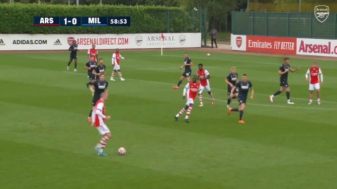 Preview image for Alexandre Lacazette scores vs Millwall