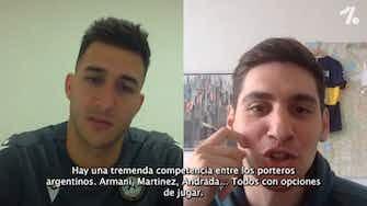 "Imagen de vista previa para Musso en EXCLUSIVA con OneFootball: ""¿Argentina? voy para ser titular"""