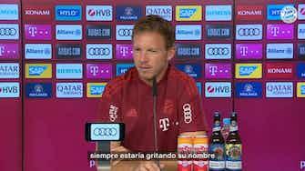 Imagen de vista previa para Nagelsmann habla con claridad de la situación de Lewandowski