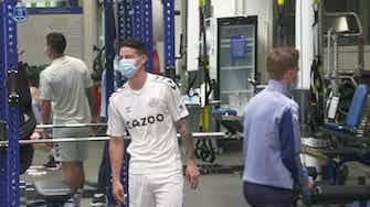 Preview image for Rafa Benítez and Everton stars return for pre-season training