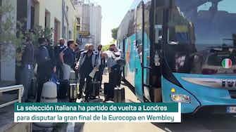 Imagen de vista previa para  Italia, de camino a Wembley