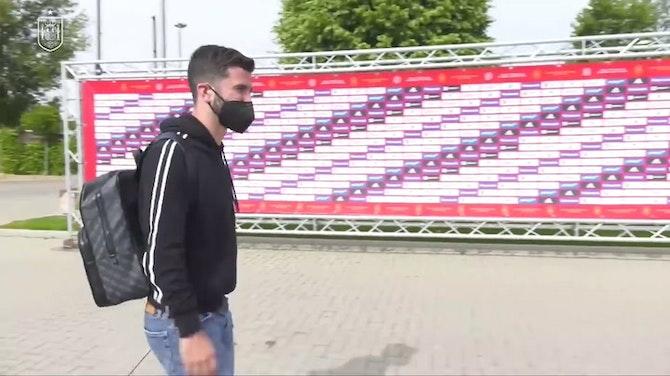 España empieza la concentración para la Eurocopa