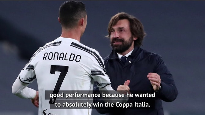 Pirlo confident Ronaldo's future is still with Juve