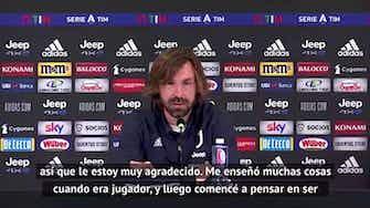 "Imagen de vista previa para Pirlo: ""Conte me inspiró para ser entrenador"""