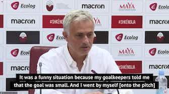 Preview image for Mourinho reveals bizarre goalpost error following Tottenham win