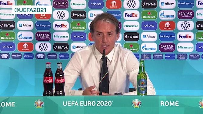 "Anteprima immagine per Mancini: ""Locatelli? Gol straordinario"""